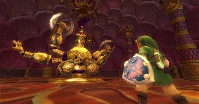 'Skyward Sword' taking 'Zelda' to new heights