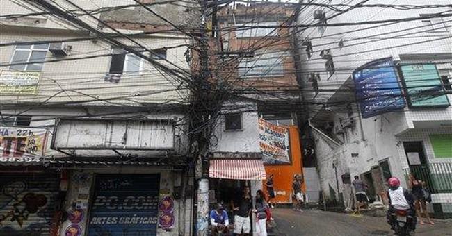 Brazil economist: Rio slum poised for improvement
