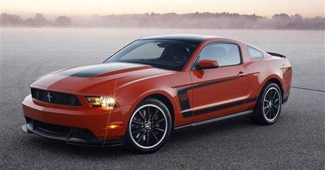 Mustang Boss 302 races back
