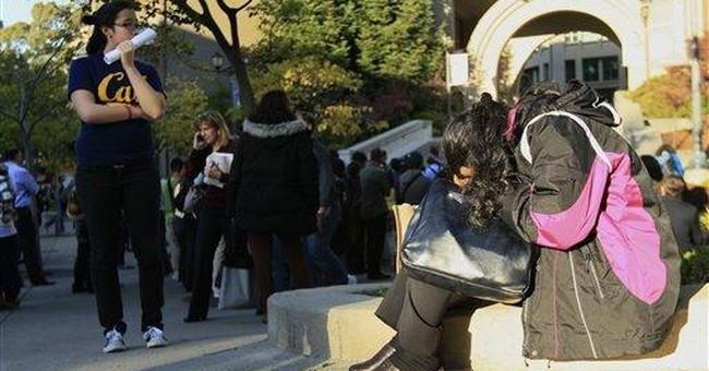 Police: Man shot at UC Berkeley acted strangely