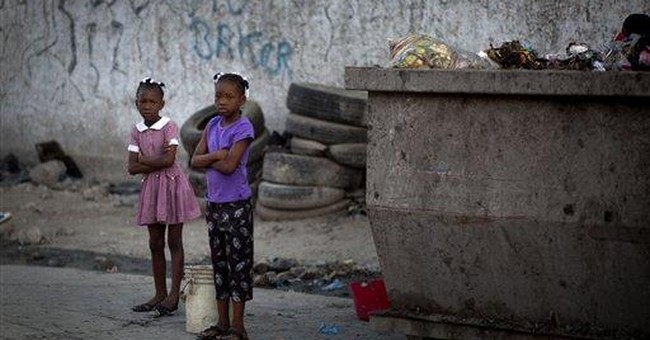 Study suggests homicides dropping in Haiti capital