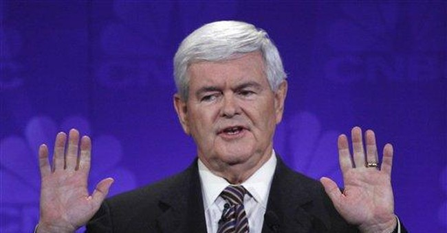 Gingrich defends big contracts with Freddie Mac