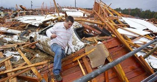 Tornadoes in Southeast kill 6, flatten houses