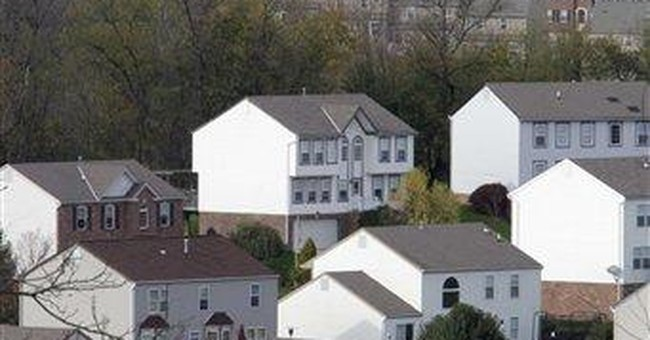 US housing starts down slightly in October