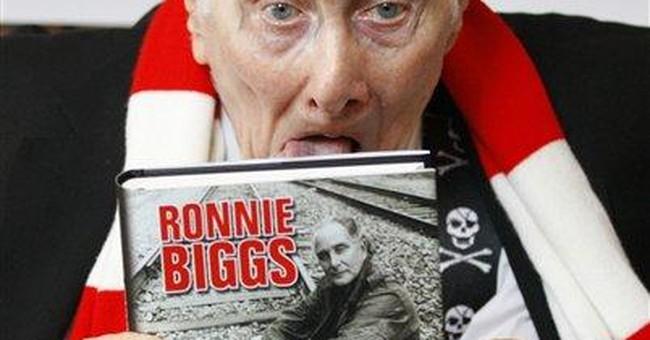 'Great Train Robber' Ronnie Biggs launches memoir