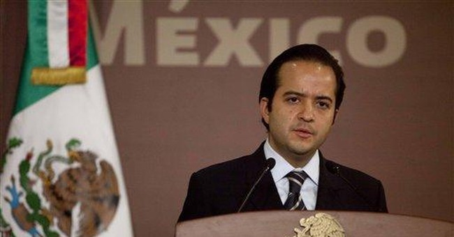 Mexico names intelligence chief to interior post
