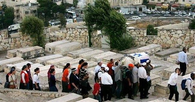 Israelis mapping Mount of Olives necropolis