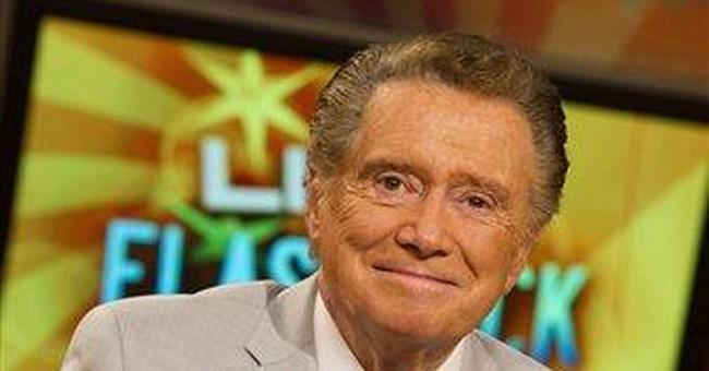 Regis Philbin makes exit from morning TV