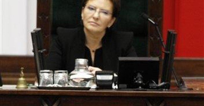 Polish PM vows to tackle public debt in 2nd term