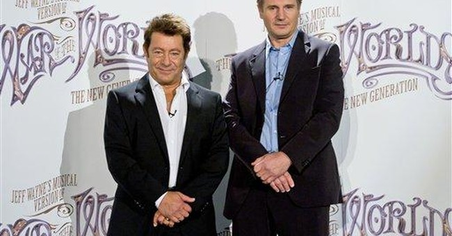 Liam Neeson to narrate 'War of the Worlds' musical