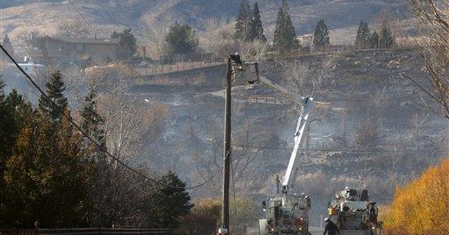 Fire crews focusing on hot spots in Reno fire