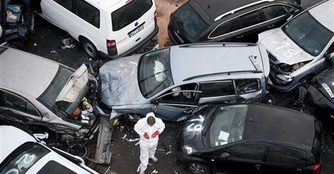 German autobahn pileup kills 3