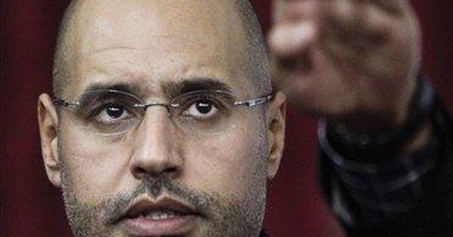 Seif al-Islam Gadhafi was former heir apparent