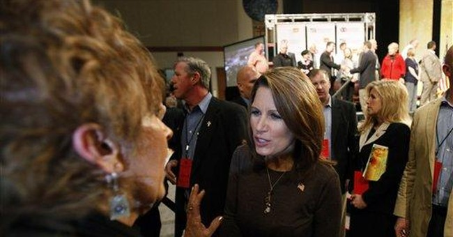 Bachmann: Obama 'AWOL' at crunch time on deficits