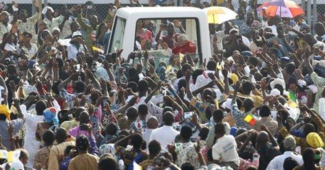 Pope leaves Africa with spiritual 'road map'