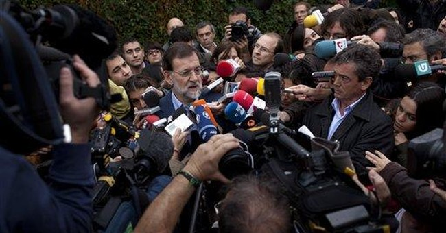New center-right Spain leader: Master of ambiguity