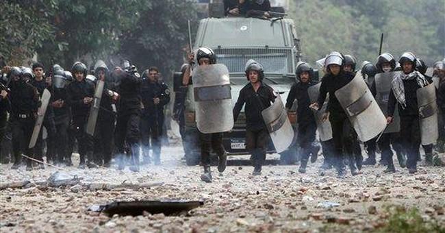 Egypt stocks tumble on Cairo unrest
