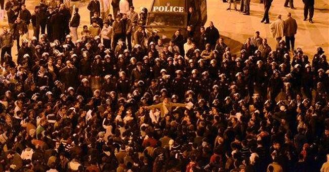 Egypt stock market plunges on political crisis