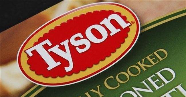 Tyson Foods 4Q profit falls on higher costs