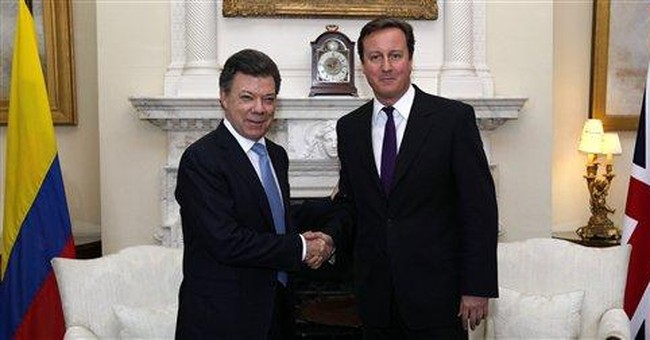 Colombian president, UK PM pledge to boost ties