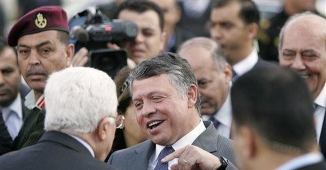 Jordan's king pays rare visit to West Bank