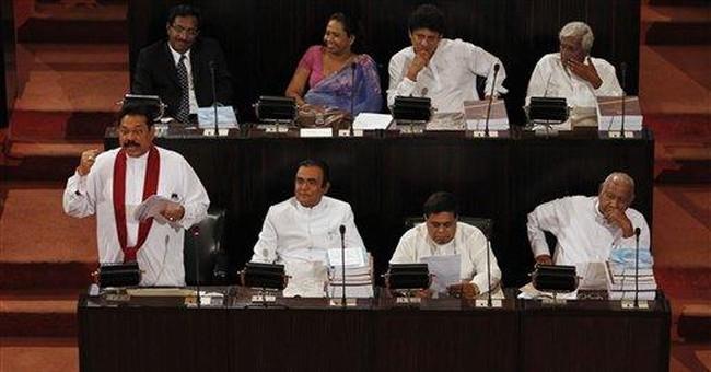 Sri Lankan opposition attacked inside Parliament