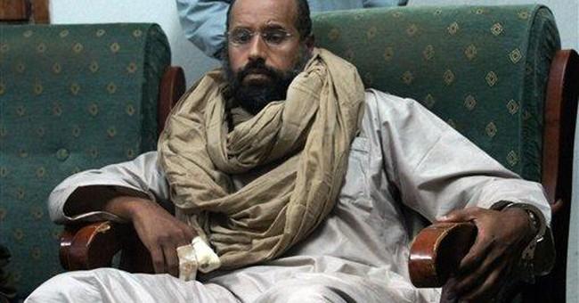 Gadhafi intelligence chief held in secret location