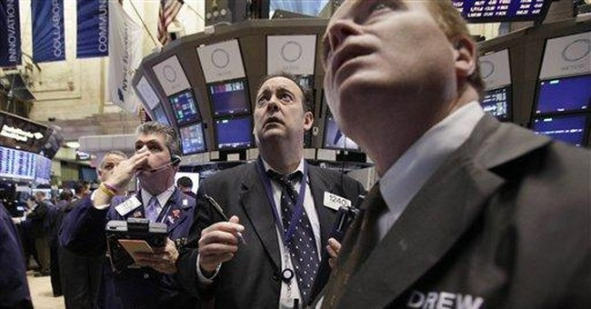 The supercommittee sell-off: Dow loses almost 250