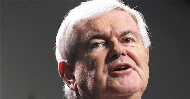 Gingrich calls for private retirement accounts