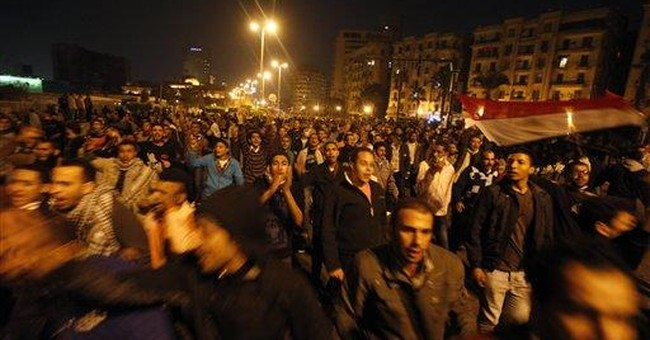 Egypt stock market drops on political unrest