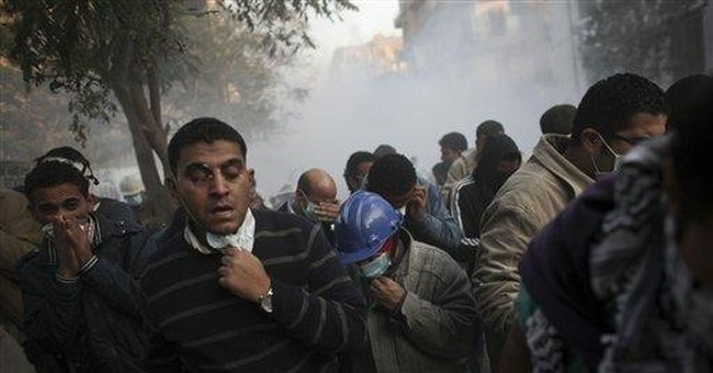 Egypt's latest uprising has a more violent feel