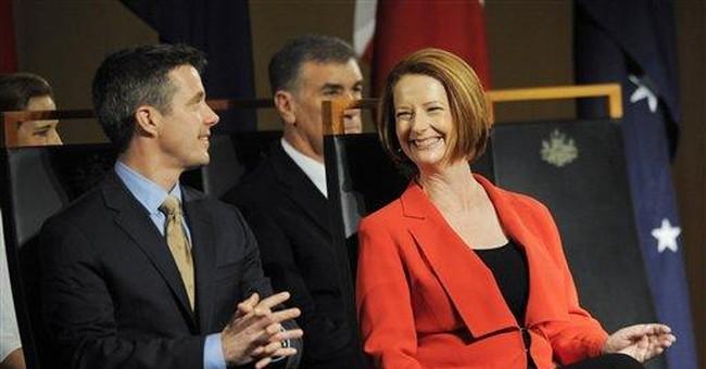 Australian leaders welcome Danish royal couple