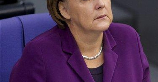 Merkel rejects Commission push for eurobonds