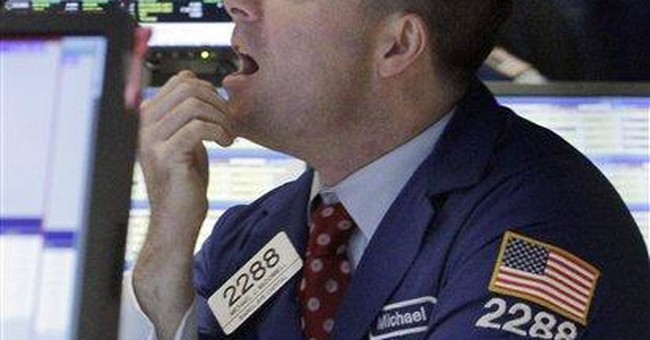 Stocks slide as government lowers growth estimate