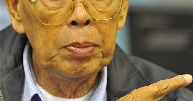 Khmer Rouge No. 2 says regime acted for Cambodians