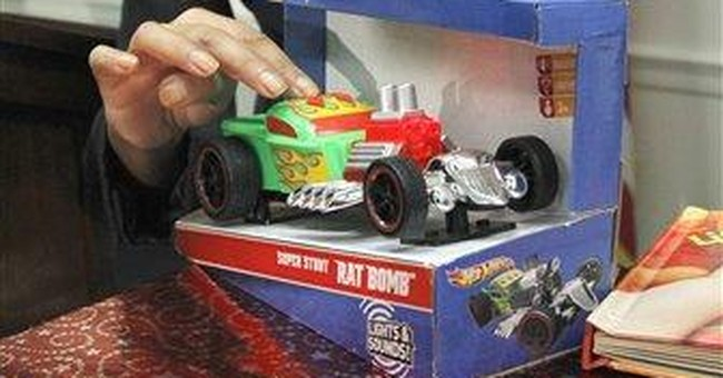 Toy safety report finds some holiday dangers
