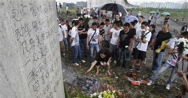 Chinese left guessing over high speed rail crash