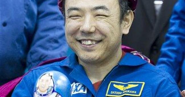 Soyuz with 3 astronauts lands in Kazakhstan