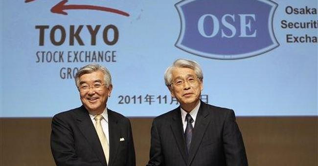 Tokyo stock exchange makes offer for Osaka bourse
