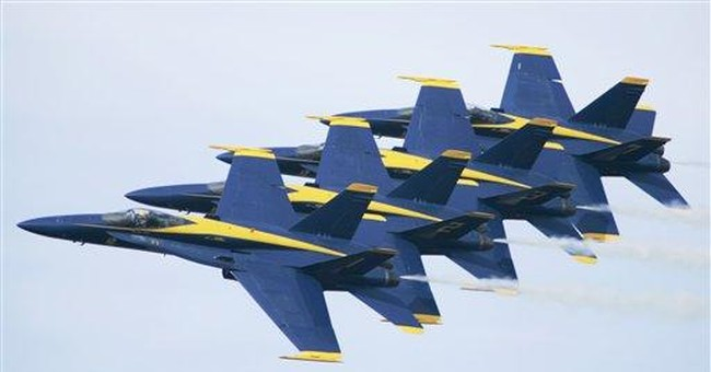 Navy Blue Angels fly into era of budget questions