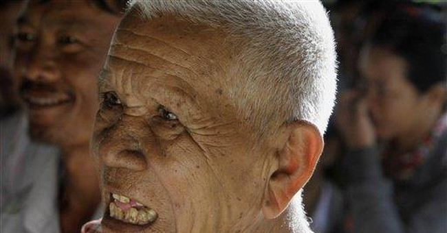 Ex-leader: Khmer Rouge atrocities are 'fairy tale'