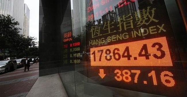 Global economic fears knock markets down