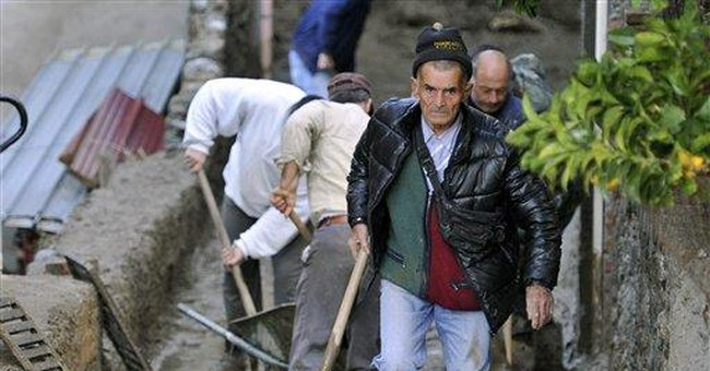 Mudslides in southern Italy kill 3 people