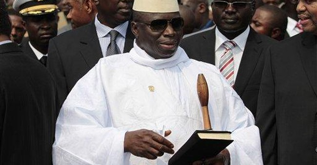 Gambia incumbent wins re-election, commission says