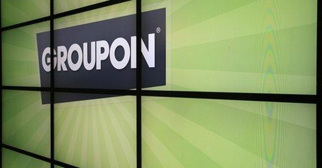 Groupon's shares fall below IPO price in 3 weeks