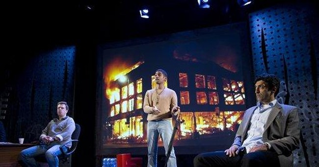London theater turns England's riots into a drama