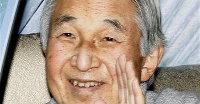 Japan emperor leaves hospital after pneumonia bout