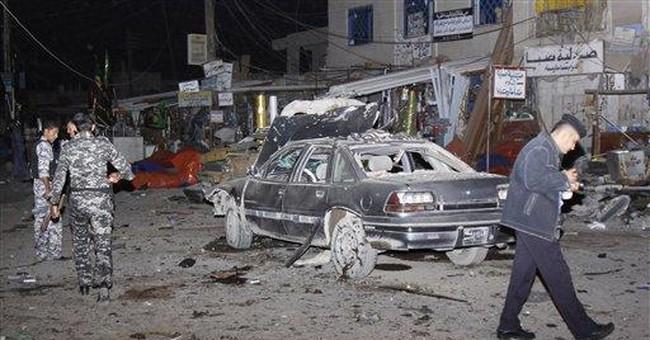 Triple bombings in south Iraq kill 19, injure 64