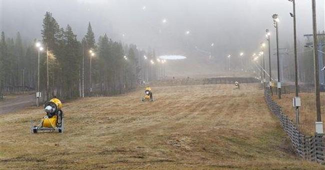 Snowless Scandinavians wonder 'where's winter?'