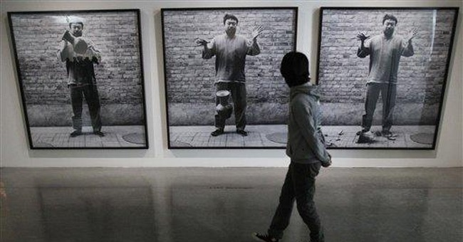 Taiwan leader calls for artistic freedom in China